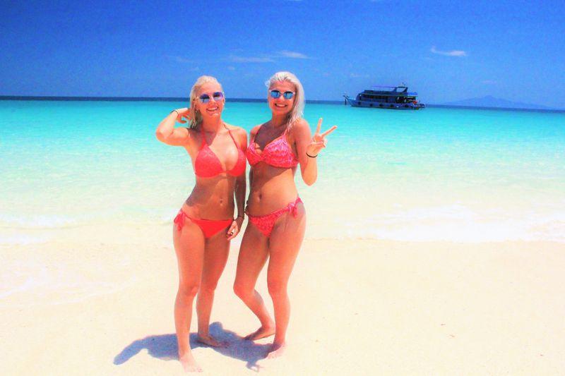 透明すぎてハッピ〜!太陽と愛と夢の楽園!タイ・バンブー島