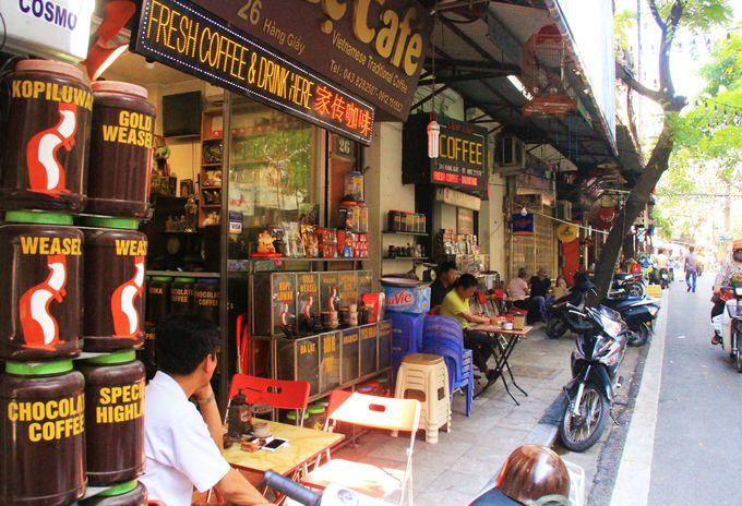 コーヒー大国のベトナム!カフェでまったり過ごすのが好き