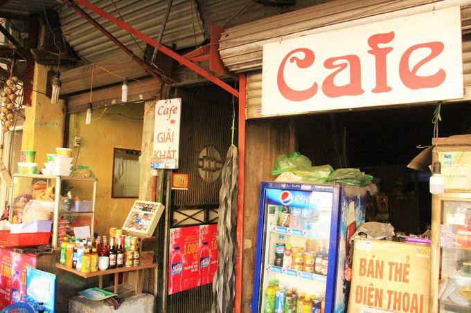 ハノイ駅前でおススメのカフェ・レストラン「Cafe」