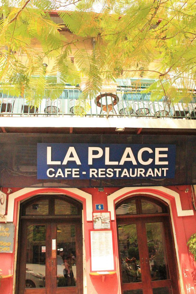 地元のベトナム人女性にも人気!まったり癒しのカフェ「ラプレイス(La Place)」