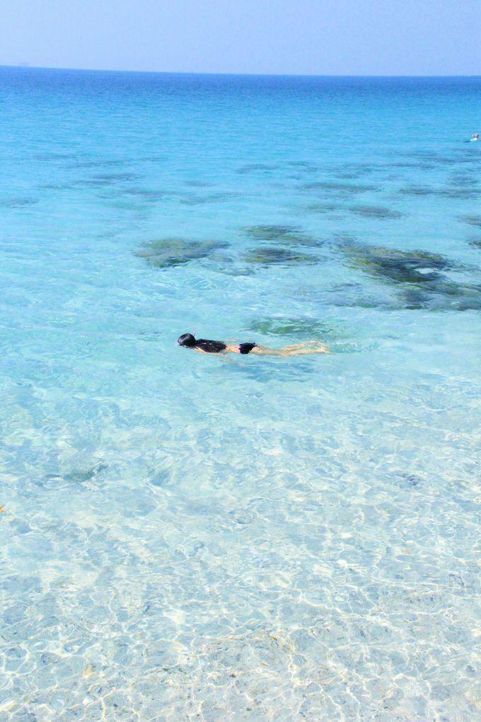 秘島のビーチで、何もしない休日を