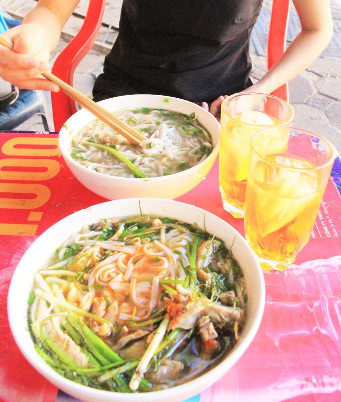 牛肉入りの「フォー・ボー」は、ベトナム人に大人気