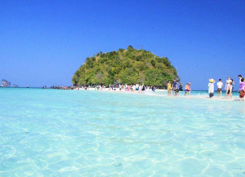 """幻のビーチ""""タレー・ウェーク""""を追え!タイ・クラビ「タップ島」の絶景現象"""