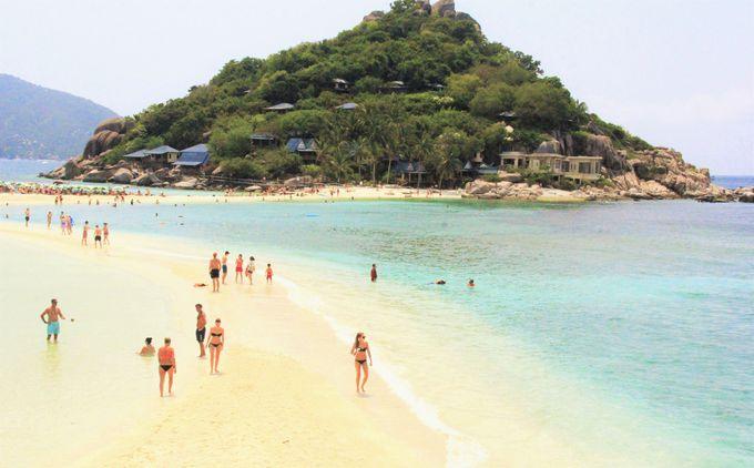 絹のような砂州が3つの小島を結ぶ!神秘なほど美しい「ナンユアン島」