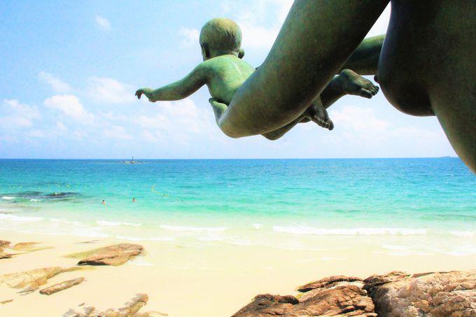 コバルトブルーの海!白い砂がまぶしい!「サイケオ・ビーチ」