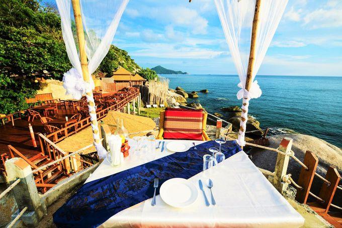 絶景の海に最も近いラグジュアリーホテル「デュシット・ブンチャ・リゾート・コ・タオ」