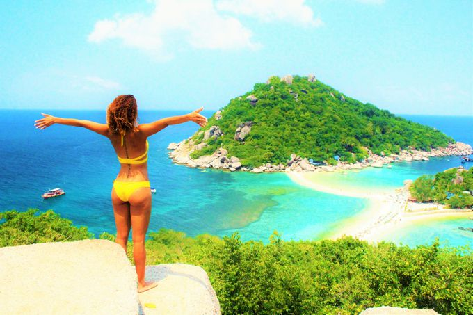 タオ島で最も絶景のビーチ!「ナンユアン島」