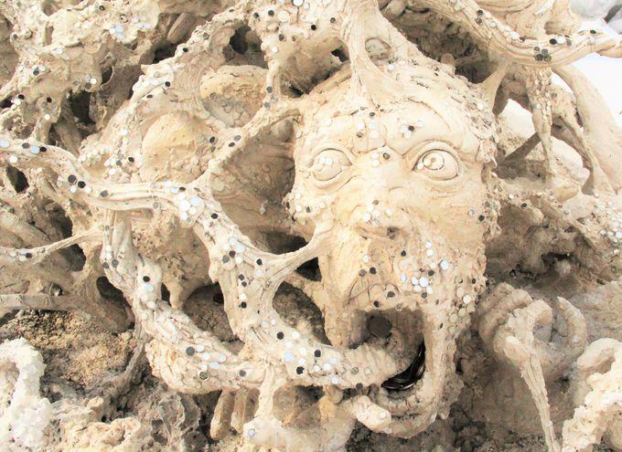 生き地獄!?哀感漂わせる現代仏教美術
