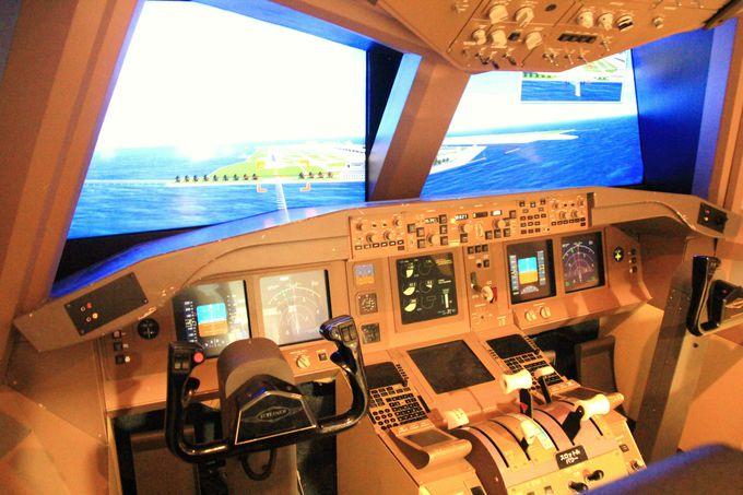 無料のフライトシミュレーターも!関空展望ホールSky View