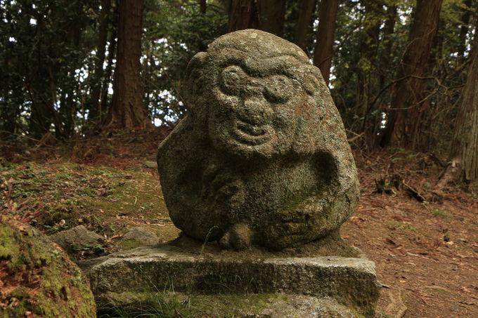 猿石も!高取城へ歴史ロマンの旅