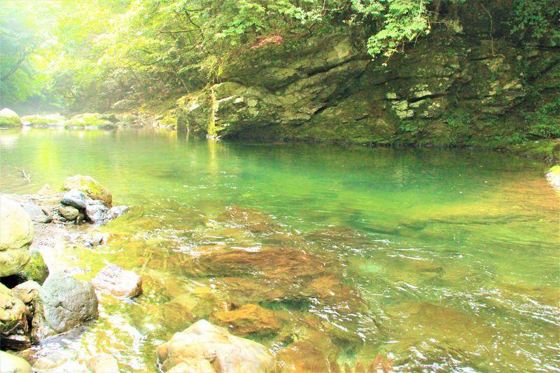 ファミリーにおすすめ!奈良天川村「川遊び&温泉&ハイキング&鍾乳洞」観光ポイント