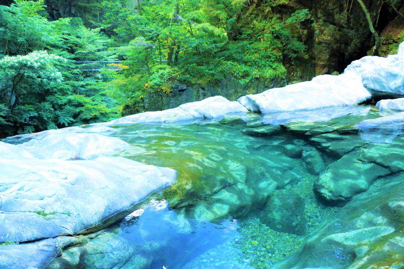 奈良県天川村「みたらい渓谷」でハイキング!新緑や紅葉の時期におすすめ