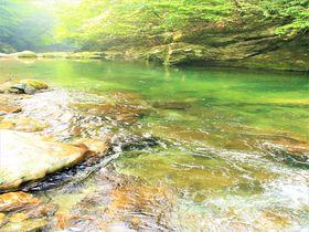 奈良・天川村「みたらい渓谷」でハイキング!温泉&川遊び&鍾乳洞探検