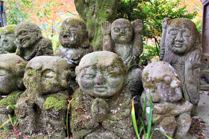 微笑みのパワーの聖地!「愛宕念仏寺」の阿羅漢さま