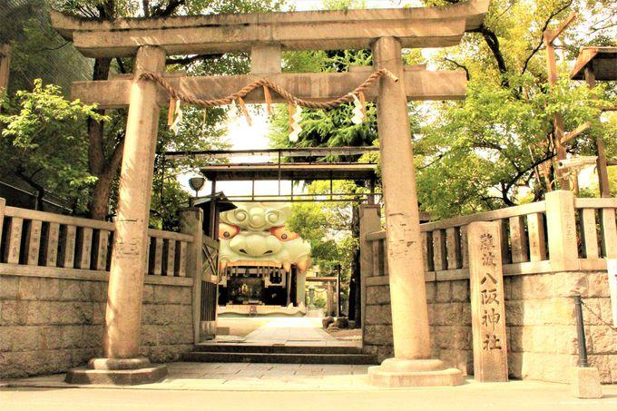 大阪の強力パワースポット!「難波八阪神社」へのアクセス、行き方
