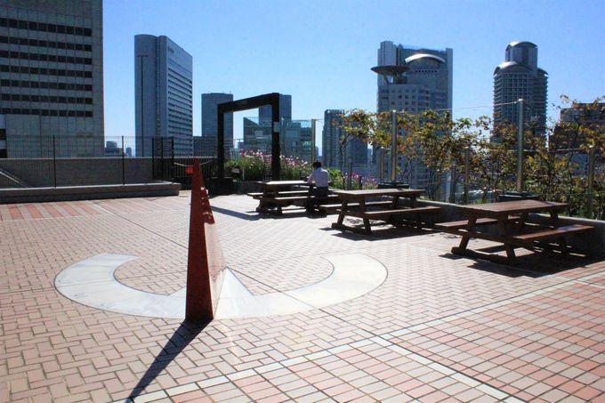 無料で楽しむ空中庭園!大阪ステーションシティの「風の広場」「天空農園」