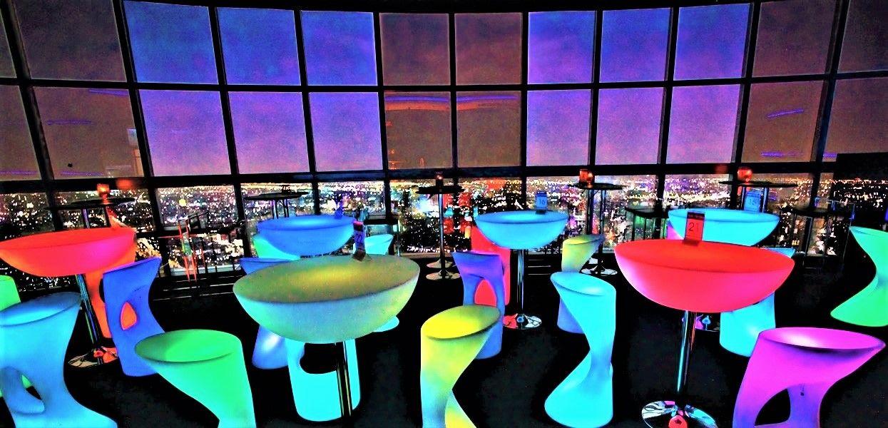高級ホテルの穴場ルーフトップバー「Three Sixty」「am Bar」「ROOF TOP」