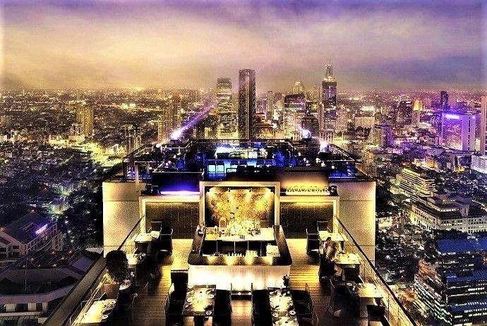 夜景が素敵!バンコクの3大絶景ルーフトップバー「Vertigo」「Red Sky」「OCTAVE」