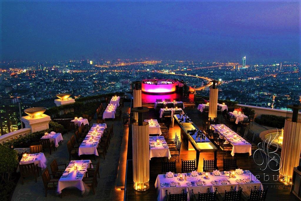 5つ星高級ホテル「ルブア」の3大ルーフトップバー「Sky Bar」「SIROCCO」「Breeze」