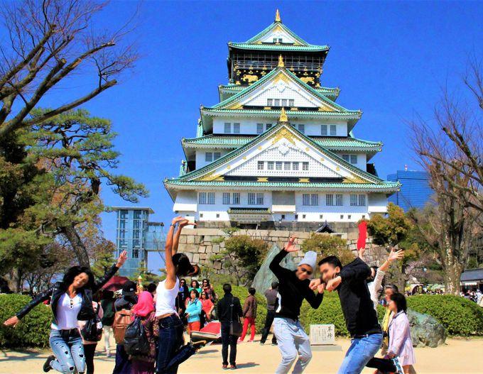 1日目午前:大阪旅はここから!「大阪城」