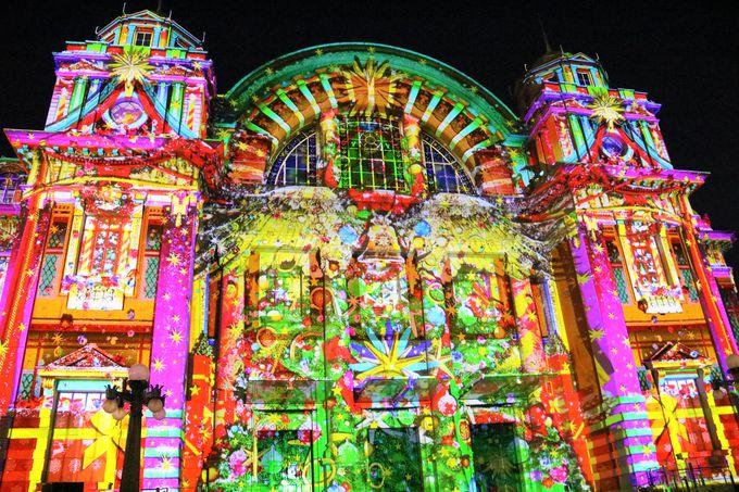 大阪市中央公会堂のマッピングが初の2部制に