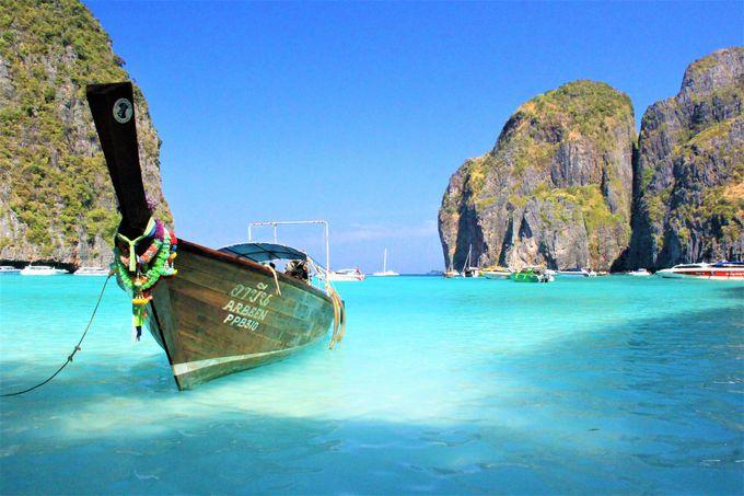 現地発のアイランドホッピングツアーの魅力とは?誰もいない「マヤベイ」/透明度バツグンの「バンブー島」