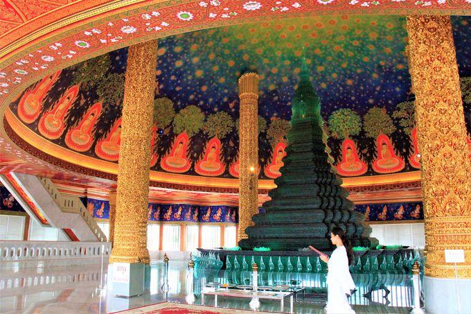 幻想的な美しいタイの寺院!「ワット・パクナム」何もしない一日を