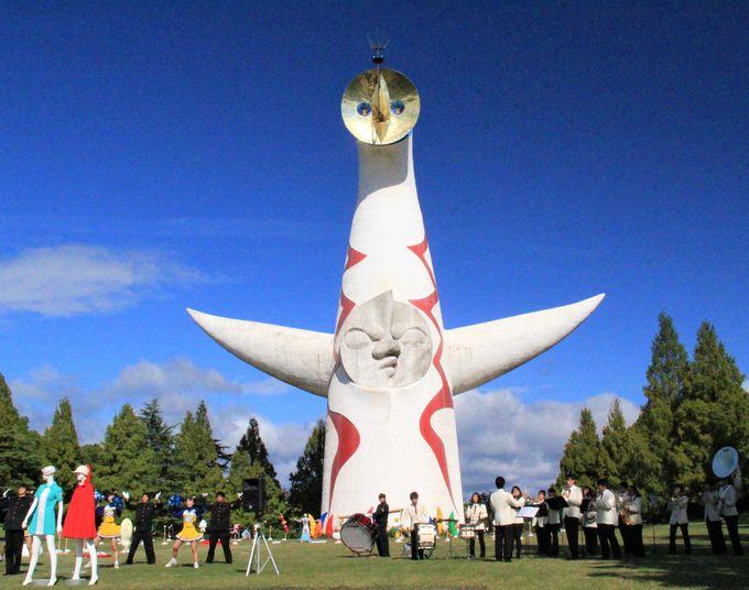 大阪・万博記念公園の「太陽の塔」