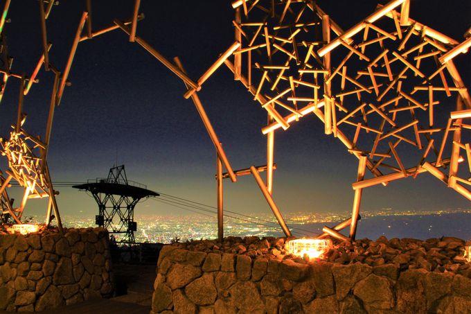 神戸観光随一のフォトジェニックスポット!「自然体感展望台 六甲枝垂れ」&「神戸1000万ドルの夜景」