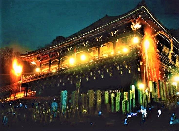 幸福のシンボル!「奈良の大仏」と「東大寺」、二月堂の修二会(お水取り)