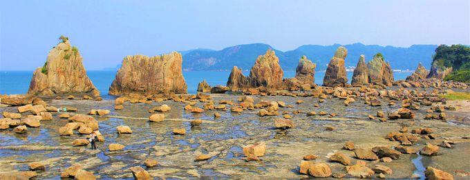 和歌山随一の観光名所!橋杭岩・世界遺産熊野古道・熊野三山