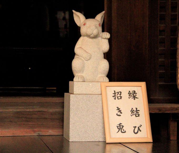 京都・岡崎神社の「うさぎみくじ」