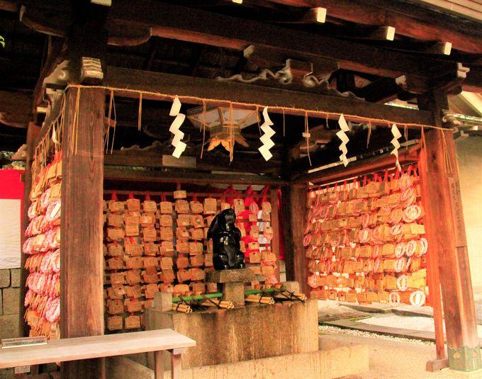 京都・岡崎神社の「子授けうさぎ」