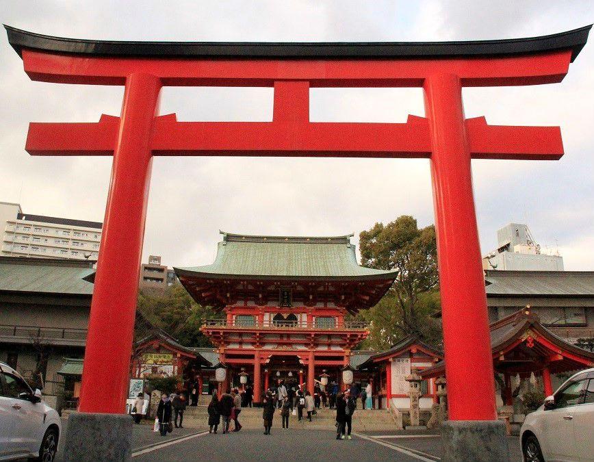 神戸・生田神社の場所・アクセス、駐車場情報