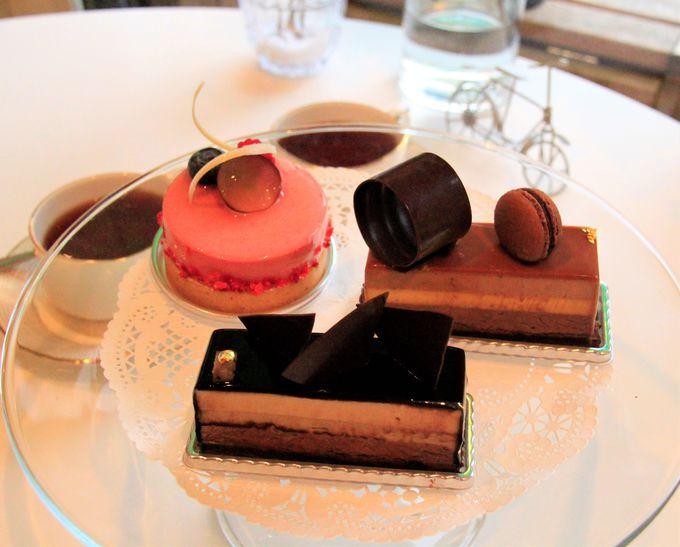チョコレートケーキの芸術!「ラブニュー」(L'AVENUE)