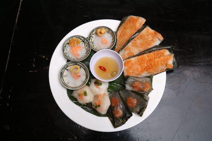 バインセオ、フエ料理も!人気レストラン「クアンアンゴン」