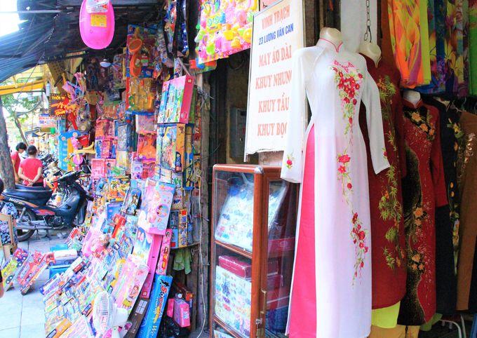かわいい雑貨店「Nagu(ナグ)」/ルオン ヴァンカン通り/線路上のブティック店
