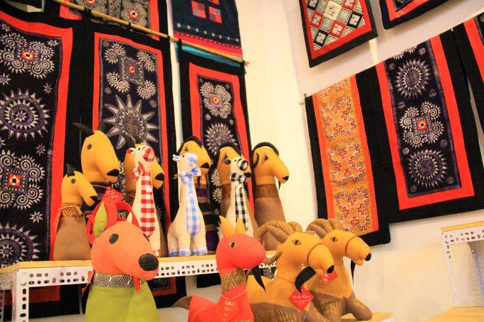 ベトナム女性博物館のお土産コーナー/ベトナム軍事歴史博物館の国宝戦車/ロンビエン橋