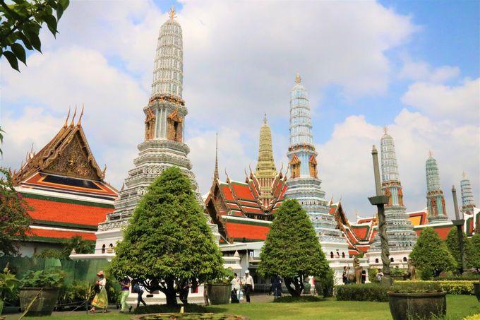 エメラルドの仏像は必見!ワット・プラケオの本堂はタイ最大の観光スポット