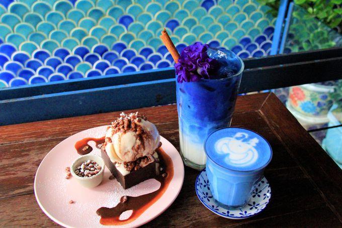 ワット・ポーに近い人気のカフェ・スイーツ!Blue Whale、Make Me Mango Cafe