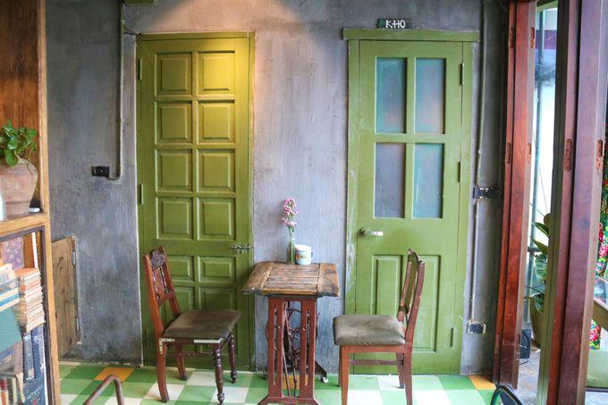 不思議な調和!レトロなカフェ「コンカフェ」