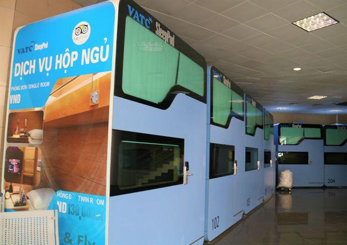簡易ホテル、格安レストランも!ノイバイ空港・第1ターミナルビルの活用方法