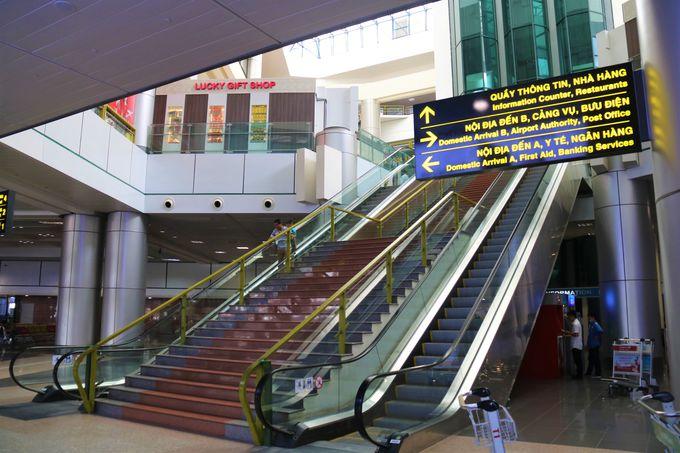 ダナン、フエ、ニャチャンなどLCCで人気の観光地へ!ノイバイ国際空港の国内線・第1ターミナルビル