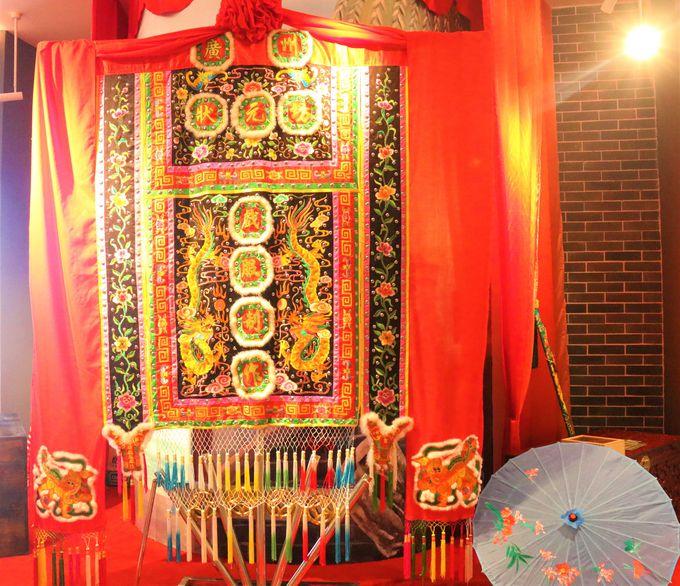 古城をイメージした中国土産店!広州白雲国際空港はまるで美術館