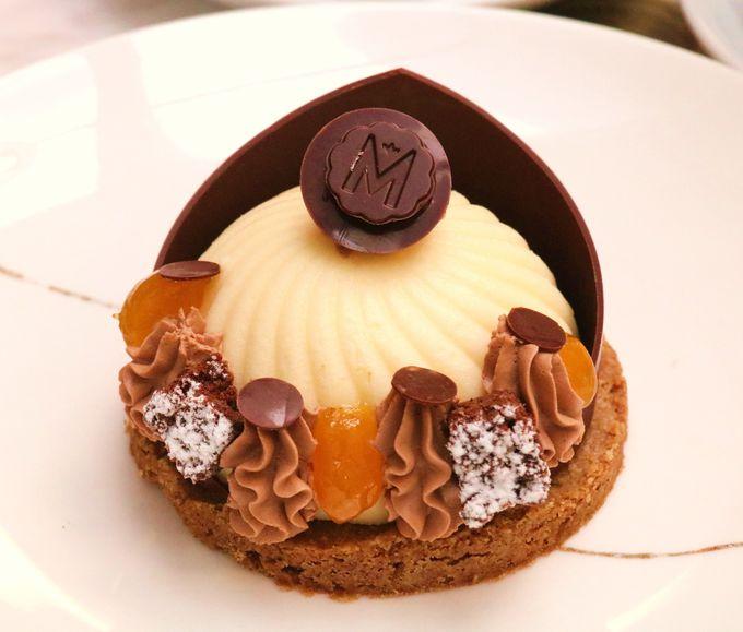 マカロンも人気!マルゥのチョコレートケーキは上品な甘さ