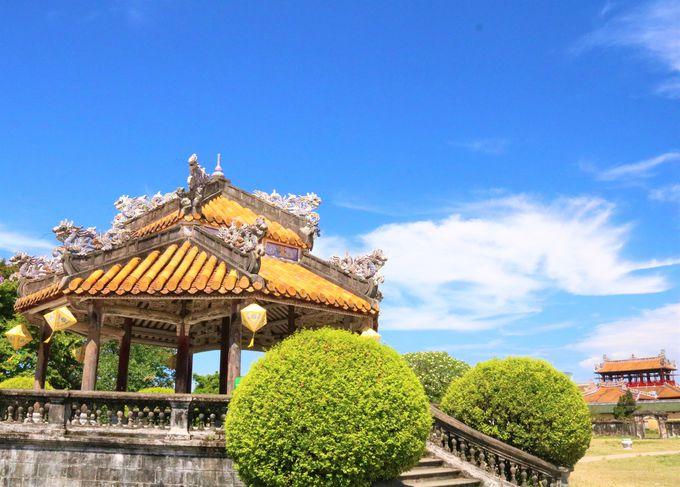 グエン朝王宮の見どころ!黄金の龍がたたずむ紫禁城エリア