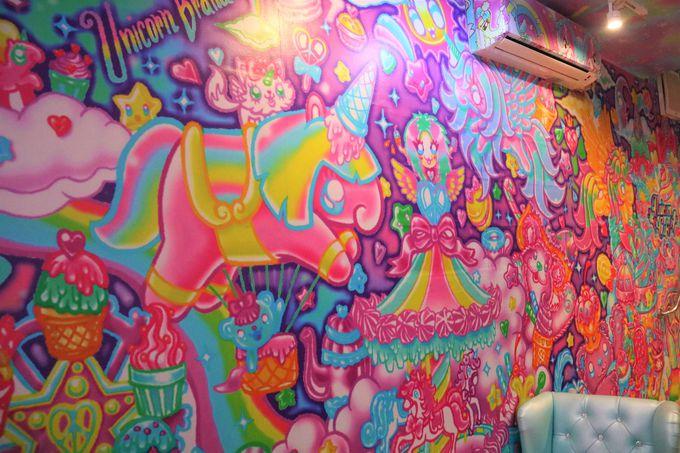 夢かわいい、不思議な世界!ユニコーンをモチーフにしたタイのカフェ