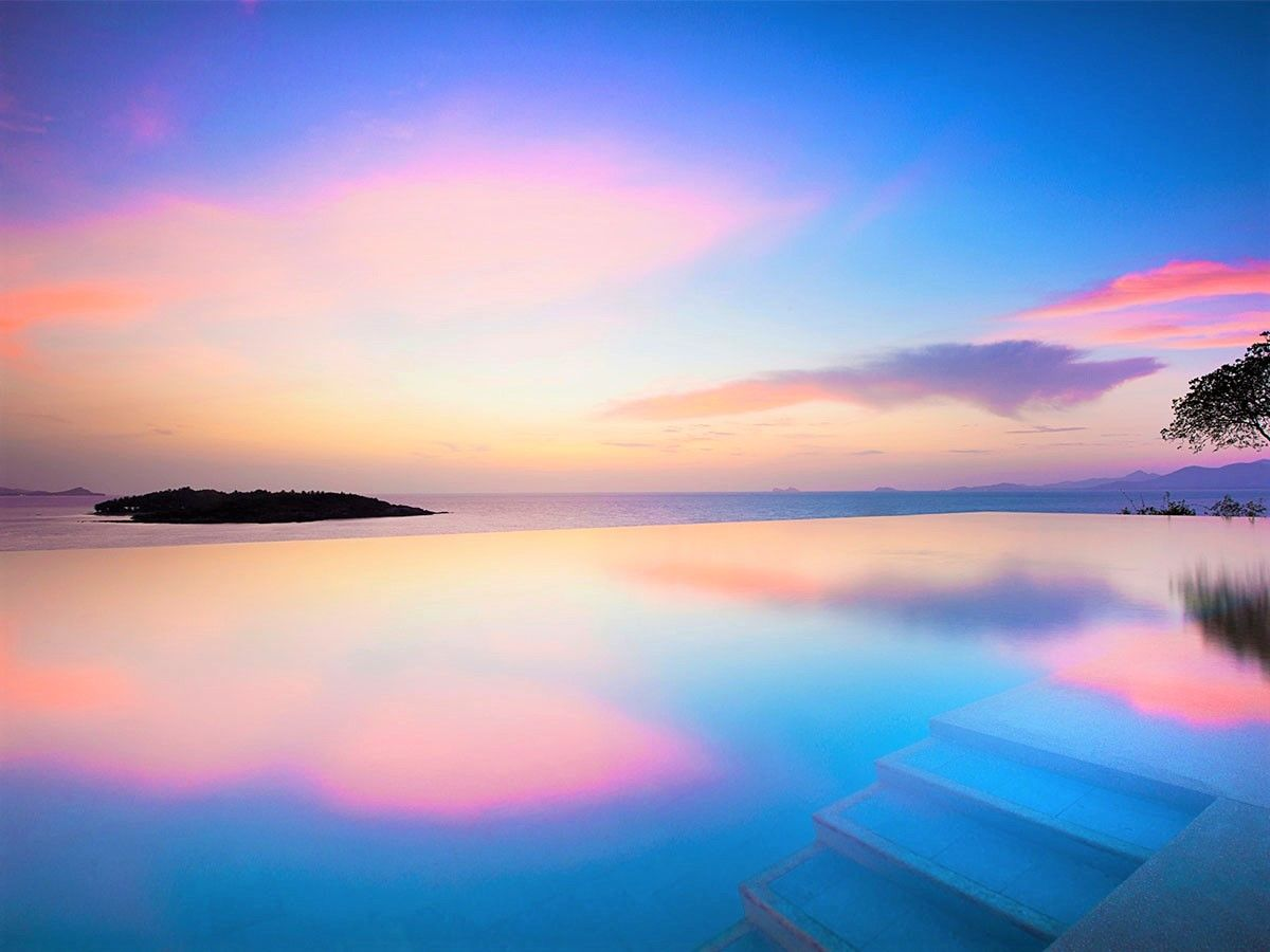 美しいインフィニティプール!サムイ島おすすめの人気ホテル