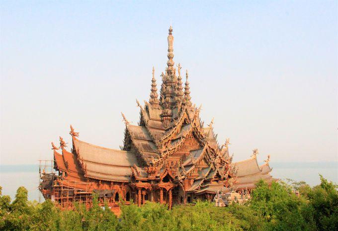 タイの美しい穴場の寺院&観光スポット