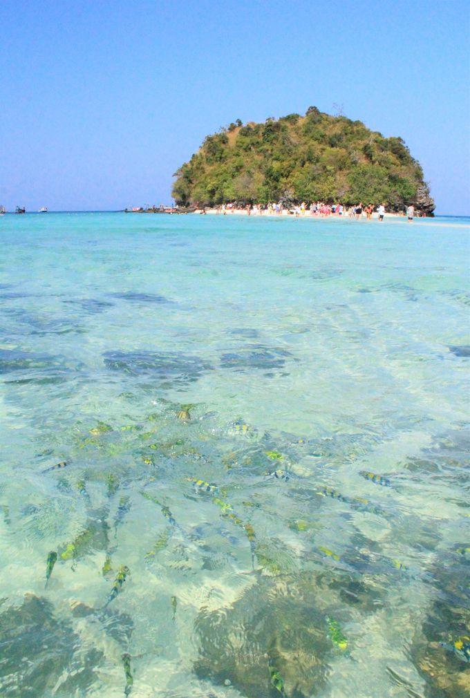 タイの美しい穴場のビーチ